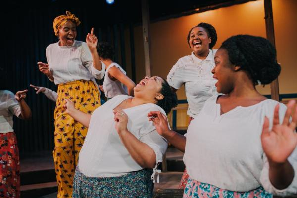 Show Photo_ Jessica Johnson, Ryane Nicole Studivant, Candace Benson, Chelsea-Ann Jones in THE COLOR PURPLE. Photo by Alex Medvick_0.jpg