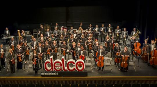Delaware County Symphony group photograph