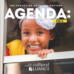 The Impact of Arts and Culture: Agenda: Pre-K