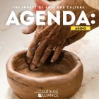 Two hands form a clay dish on the cover of Agenda: Aging